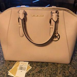 Michael Kora soft pink purse